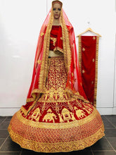 Load image into Gallery viewer, SAREEALL PRESENTS WEDDING SPECIAL LEHNGA