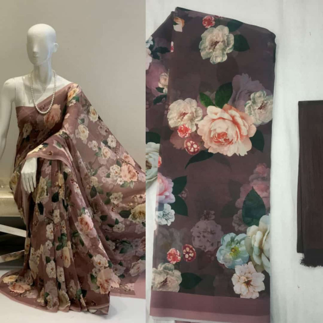 SAREEALL PRESENTS FLOWER PRINT SAREES
