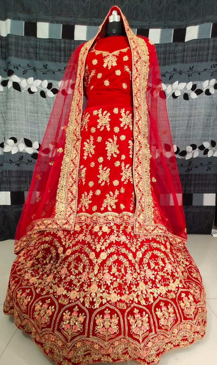 SAREEALL PRESENTS WEDDING SPECIAL LEHNGA