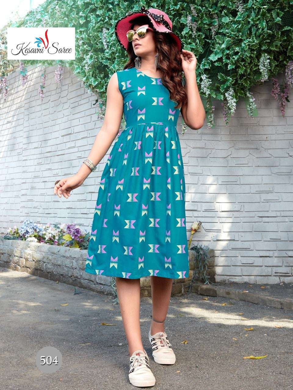 SAREEALL PRESENTS RAYON PRINT GOWN