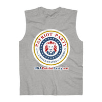 Men's Patriot Party Cotton Sleeveless Tank