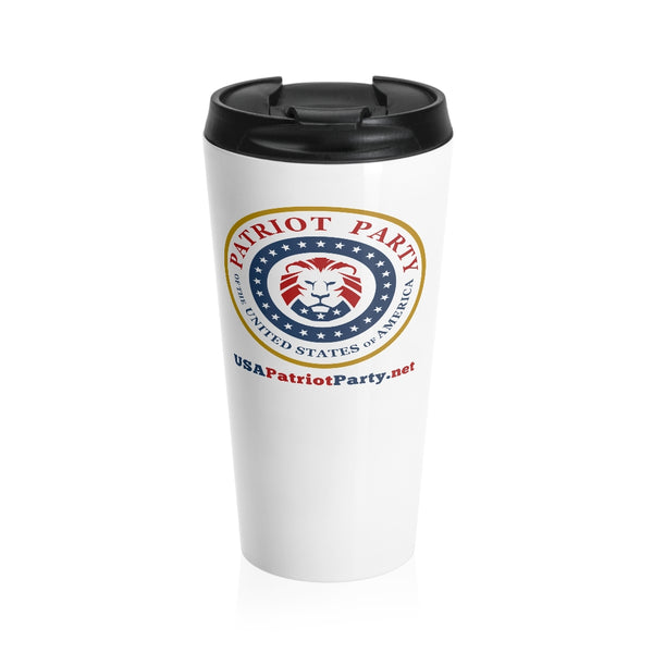 Patriot Party Stainless Steel Travel Mug 15 oz