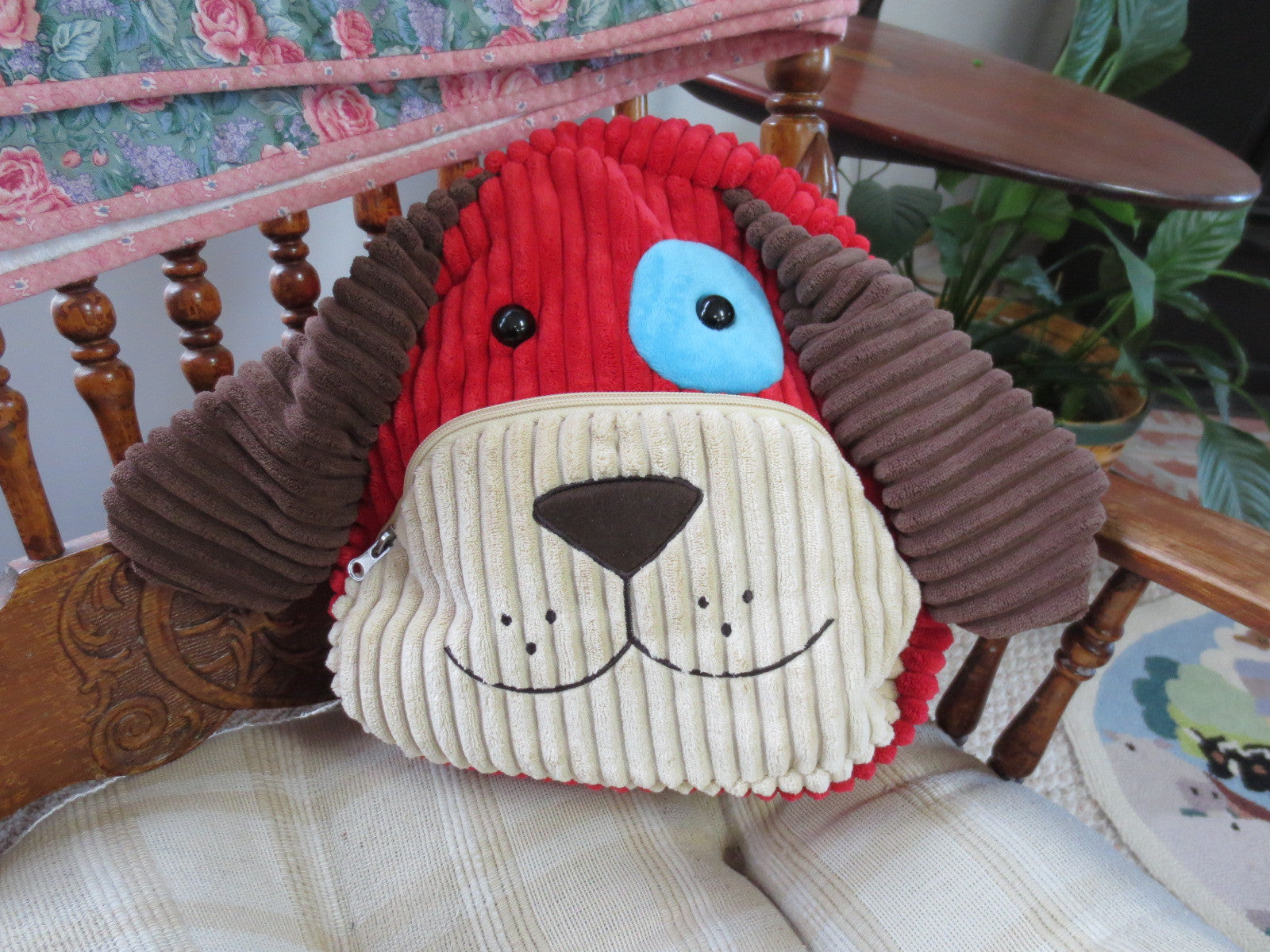 Adorable Puppy Dog Children's Overnight/Travel Bag