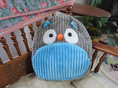 Adorable Owl Children's Overnight/Travel Bag