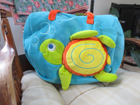 Adorable Turtle Children's Overnight/Travel Bag