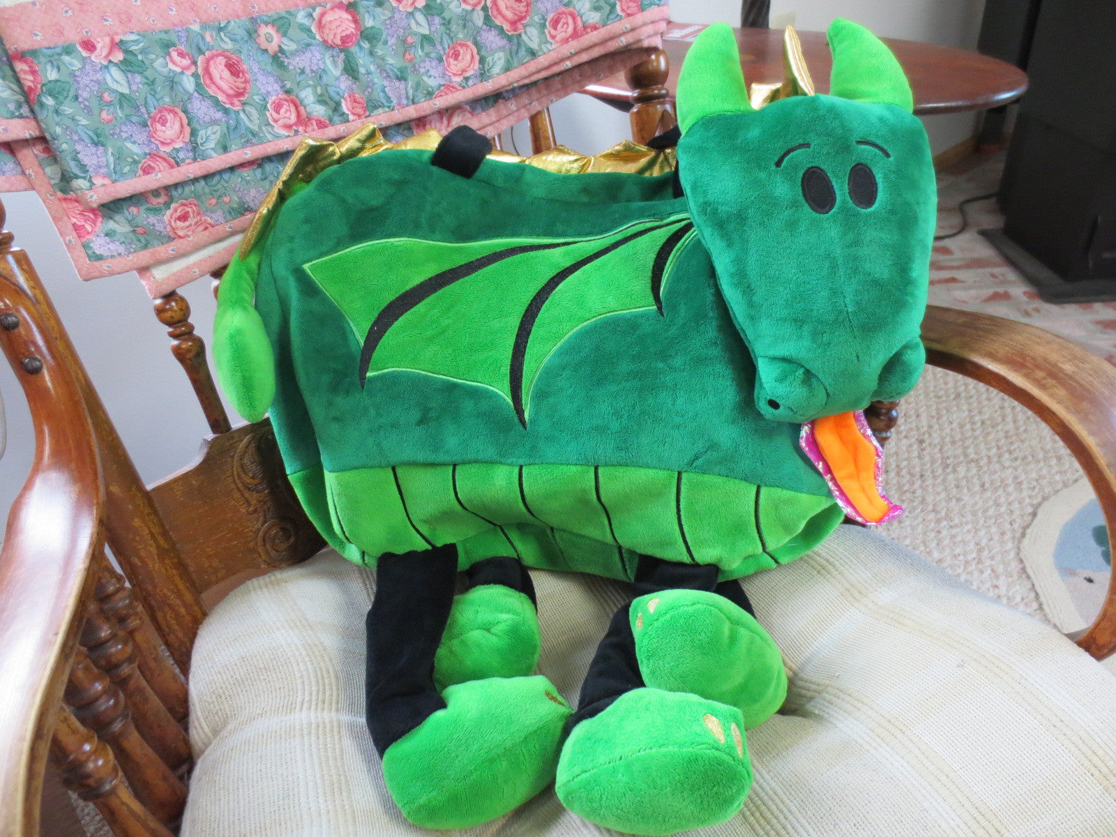 Adorable Dragon Children's Overnight/Travel Bag