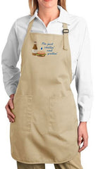 I'm Just Chillin' and Grillin' Embroidered Cooking Apron
