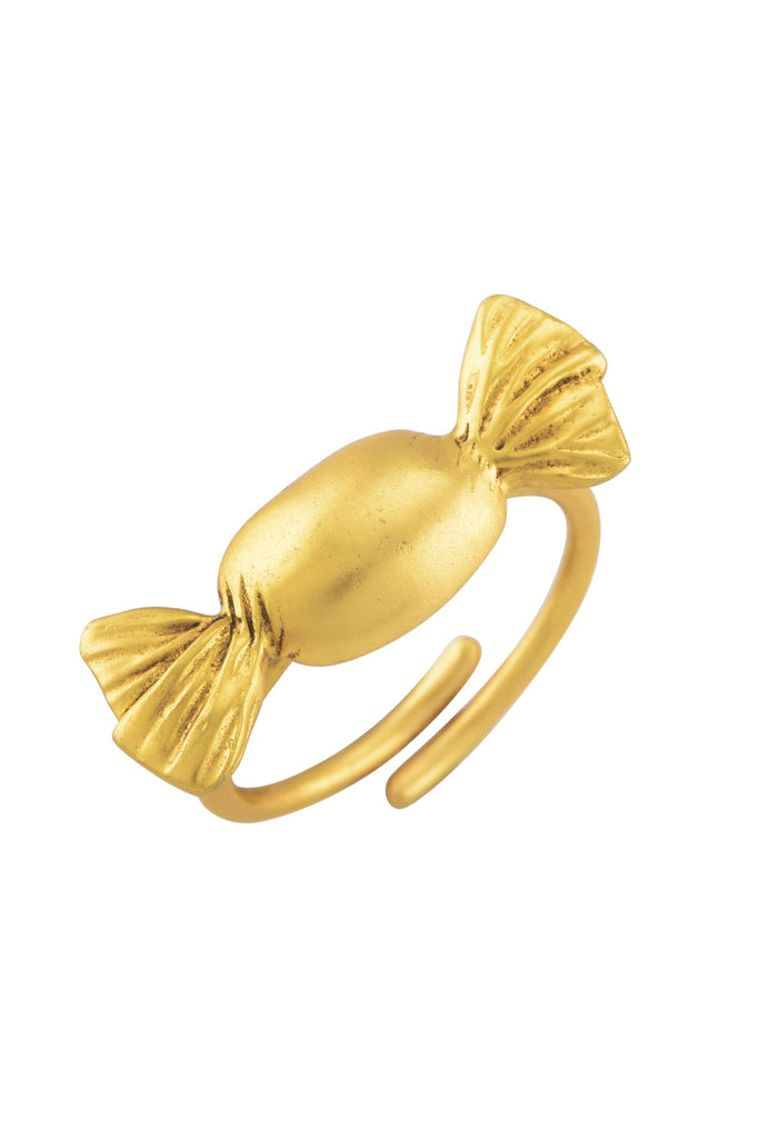 Toffee Gold Plated Ring
