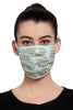 Reusable Face Mask - Ice Blue Printed Mask