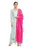 Ice Blue Wild Pineapple Kurta Set