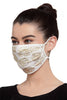 Reusable Face Mask - Ivory Printed Mask