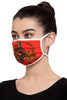 Reusable Unisex Mask - Red Sultan Tiger