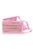Reusable Face Mask - Pink Printed Mask