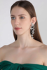 Tangled Haven Shoulder Duster Earrings Silver
