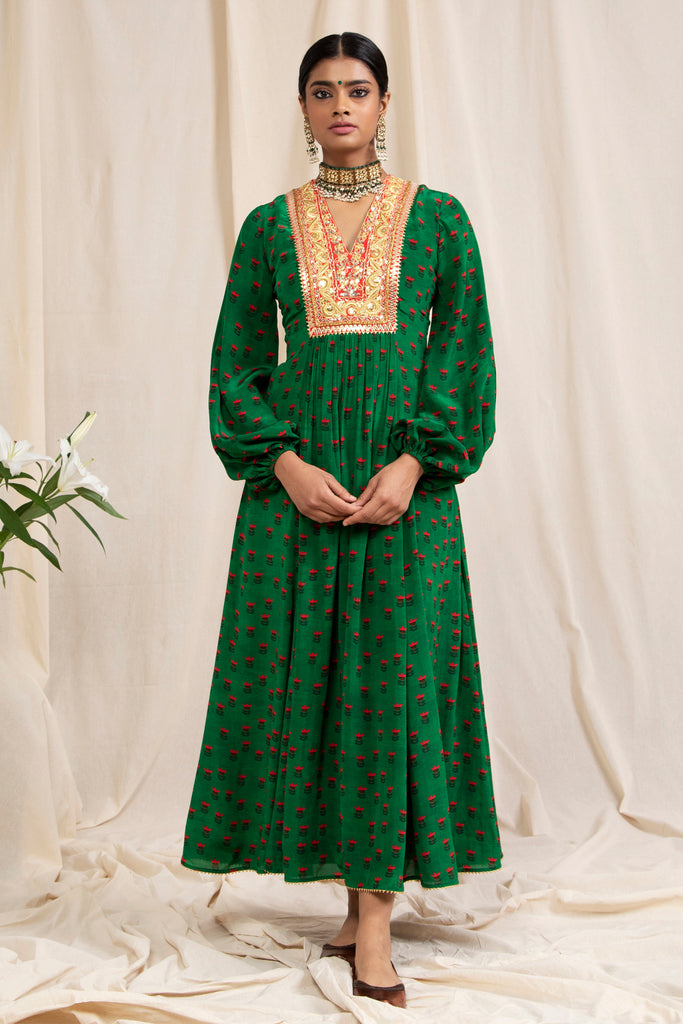 Lotus In The Pond Kurta Dress