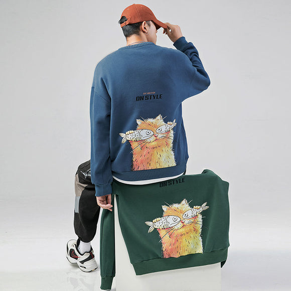 Privathinker Funny Printed Men Sweatshirt 2020 Autumn New Men's Fashion Sweatshirts 4 Colors Man Streetwear Casual Pullover