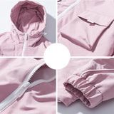 JDDTON New Spring Mens Solid Color Hood Loose Jackets Male Casual Streetwear Hip Hop Coat Men Comfortable Fashion Clothing JE241