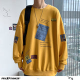 Privathinker Oversized Japanese Style Printed Men Hoodies 2020 Autumn Harajuku Men's Sweatshirts Man Male Casual Pullovers Tops