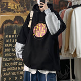 Privathinker Men's Casual Oversize Warm Hoodie 2020 Autumn Winter New Couple Hooded Sweatshirts Man Thicken Printed Clothing