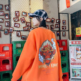Privathinker Men Winter 2020 New Hoodies Chinese Style Large Size Wukong Long Sleeve Sweatshirts Man Fashion Printed Pullovers