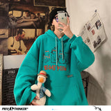 Privathinker Funny Printed Men Hoodies 2020 Autumn New Men's Hooded Sweatshirts Woman Streetwear Casual Hip Hop Warm Pullovers