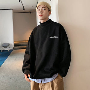 PR Men's Autumn Winter Warm Hoodies 2020 New Korean Streetwear Fashion Woman Pullovers Sweatshirts Graphic Printed Man Clothing