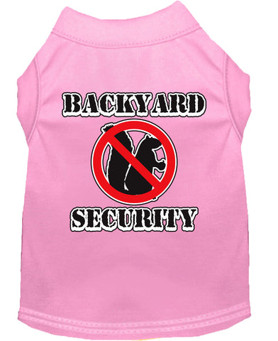 Backyard Security Dog Shirt