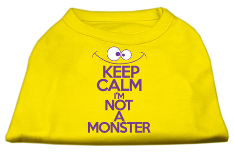 Keep Calm I'm Not Monster Dog Shirt