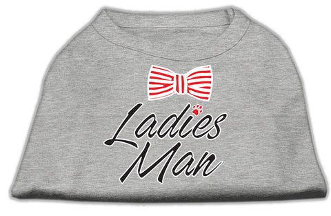 Ladies Man Dog Shirt
