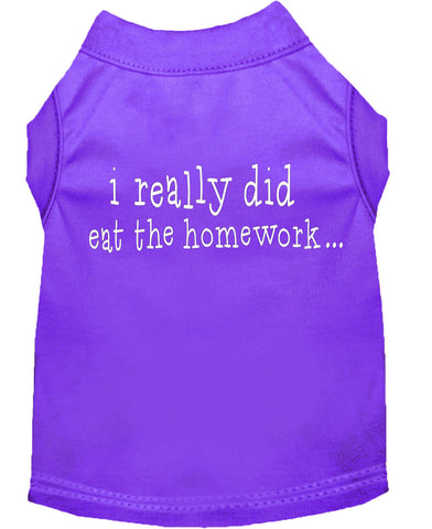 I Really Did Eat The Homework Dog Shirt