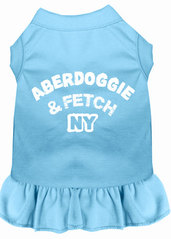 ABERDOGGIE & FETCH NY DOG DRESS