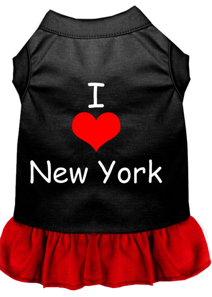 I Love New York Dog Dress