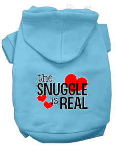 The Snuggle Is Real Dog Hoodie
