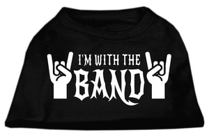 I Am With The Band Dog Shirt
