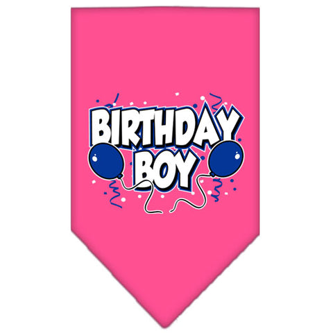 Birthday Boy Dog Bandana