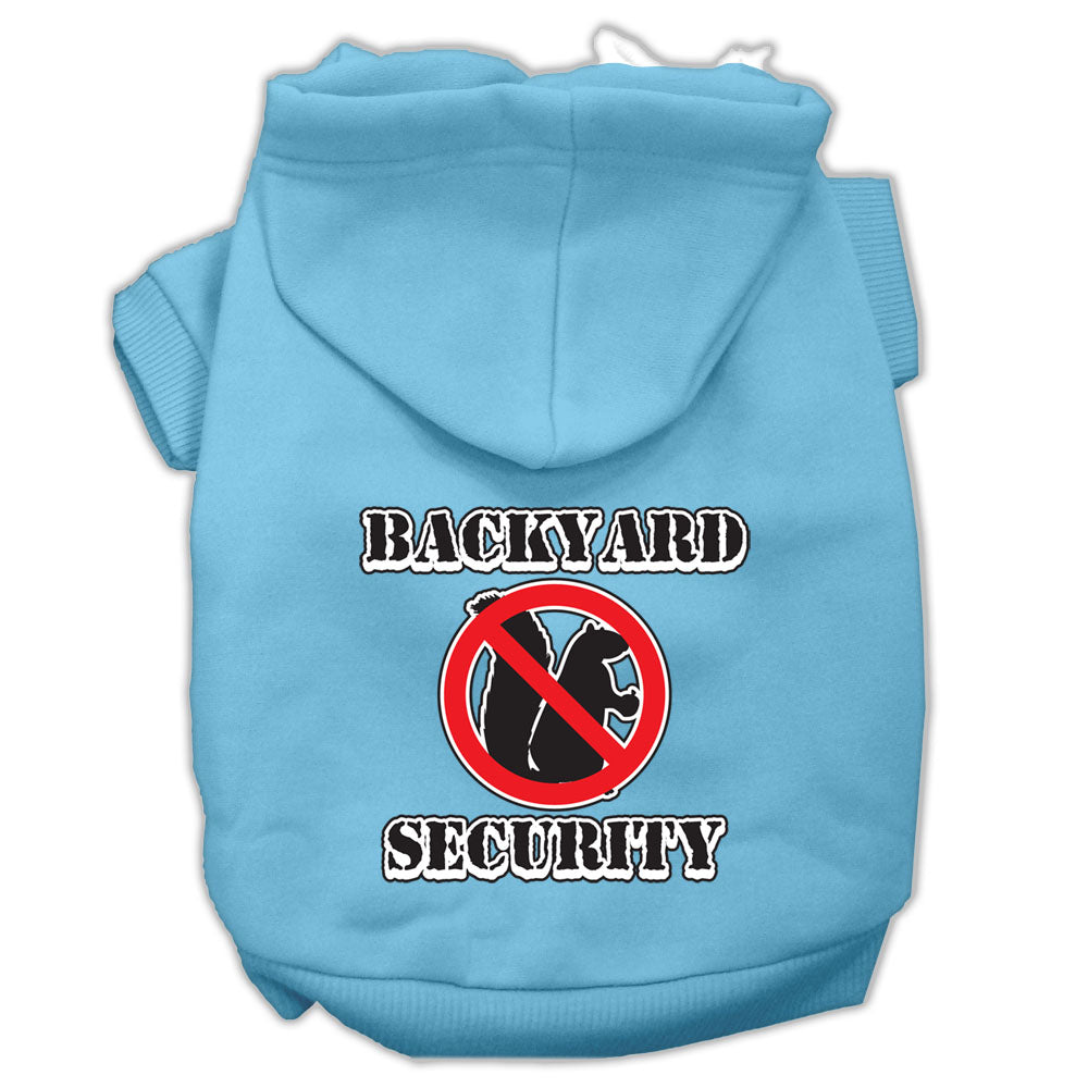 Backyard Security Dog Hoodie