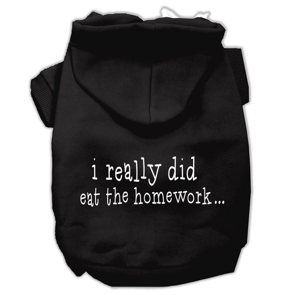I Really Did Eat the Homework Dog Hoodie