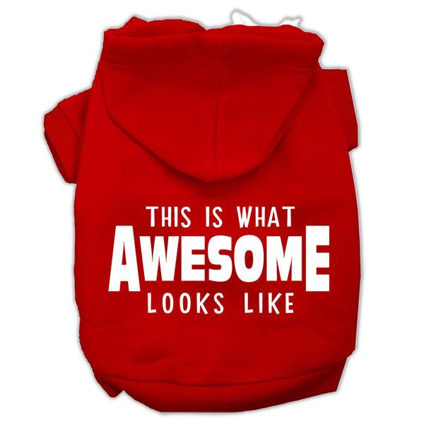 This Is What Awesome Looks Like Dog Hoodie