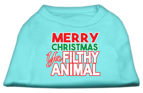 Merry Christmas Ya Filthy Animal Dog Shirt