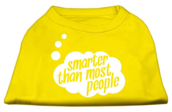 Smarter Than Most People Dog Shirt