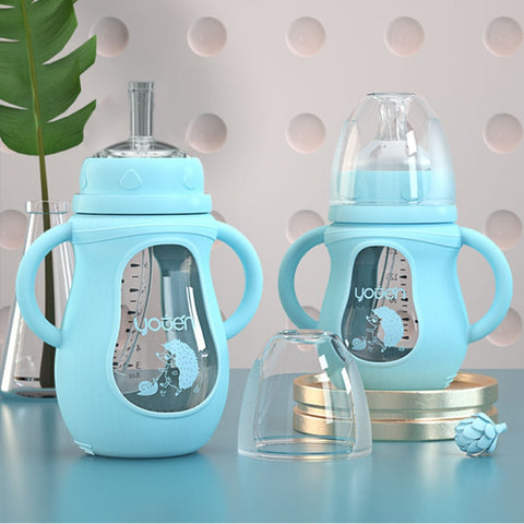 Sippy Glass Bottles