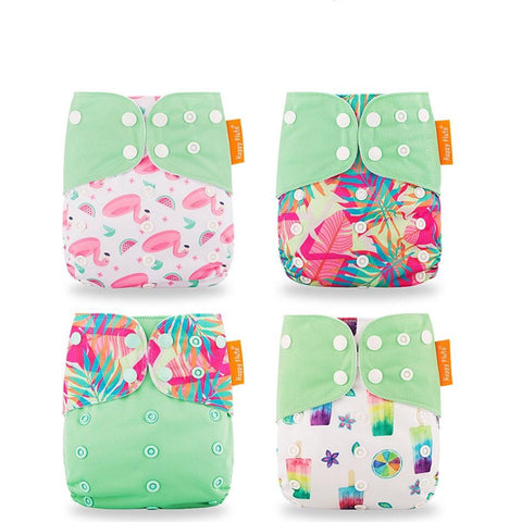 Ecological Adjustable Diapers 4PCS