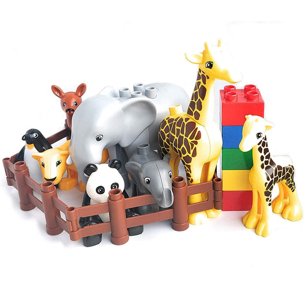 Building Blocks Animals