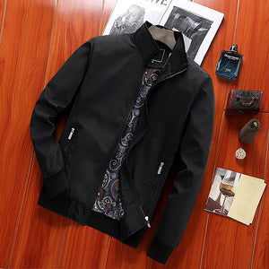 Jacket Men Big Size 4XL Windproof Comfortable Warm Korean Style High Fashion Mens Jackets and Coats Streetwear Black Coat Chic