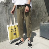Pants Men Sweatpants Casual Loose High Quality Ulzzang Korean Mens Fashions Trousers Harajuku Streetwear Males Plus Size Soft