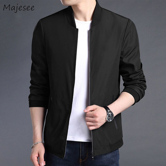 Jacket Men Plus Size Black Coat Mens High Fashion Casual Slim Fit 4XL Males Jackets and Coats Streetwear Stand Top Quality Soft
