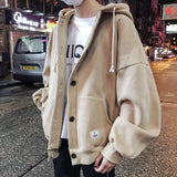 Plus Size Men Jacket Oversize Pockets Long Coat Mens Jackets and Coats Korean Style High Fashion Streetwear Males Clothes Daily
