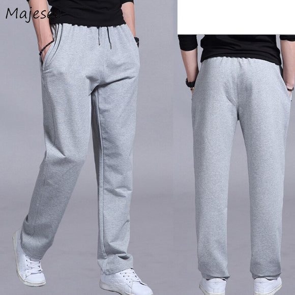 Pants Men Thicker Plus Velvet Large Size Straight Loose Pockets Leisure Pant Mens Trendy Soft High Quality Simple Trousers Chic