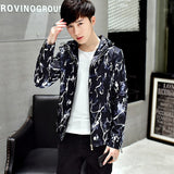 Men Jacket Plus Size Warm Zipper Novelty Patchwork Harajuku Clothes Korean Fashion Streetwear Mens Jackets and Coats Windproof