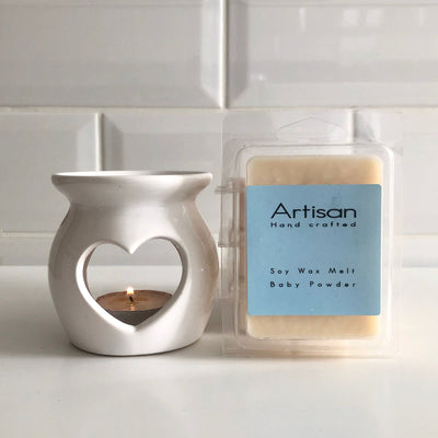 Baby Powder Artisan Soy Wax Melts - French Quarter